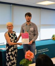 Award at RNIB College