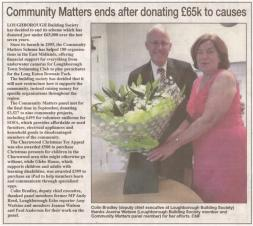 Loughborough Building Society Community Grant