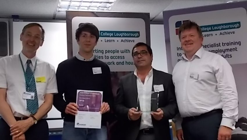 Sofa Employer Partnership Awards 2014 At Rnib College